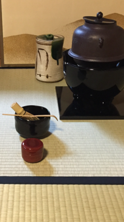 tea ceremony in October
