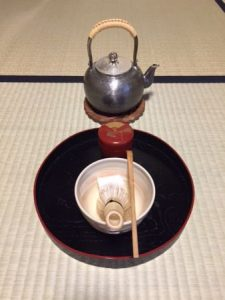 Ryakubon tea ceremony