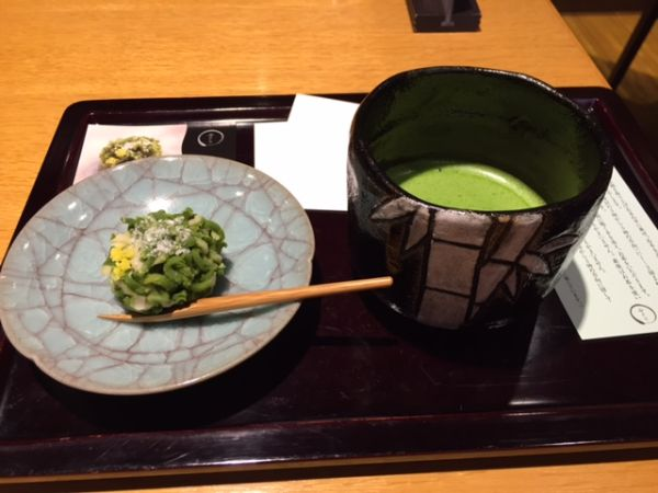 Cafés near Kyoto station where we can have Matcha