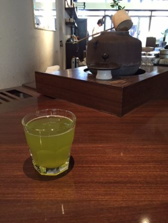 IEMON SALON KYOTO; Modern café we can enjoy high quality Japanese tea with meal
