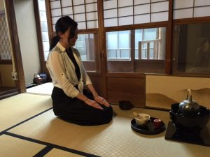 private tea ceremony lesson