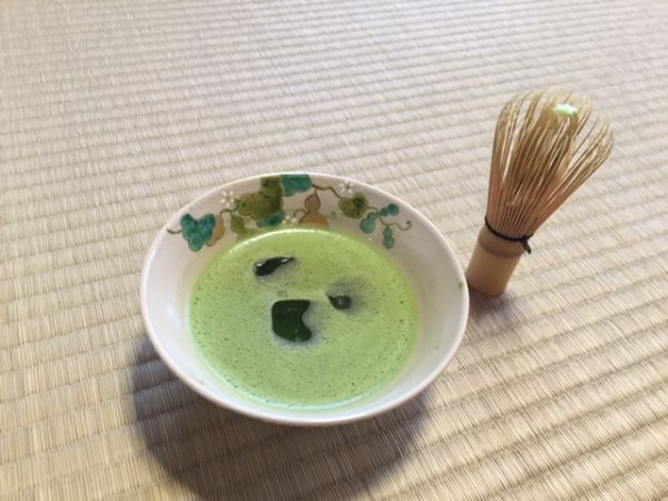 How to make Ice green tea (Matcha) in summer?