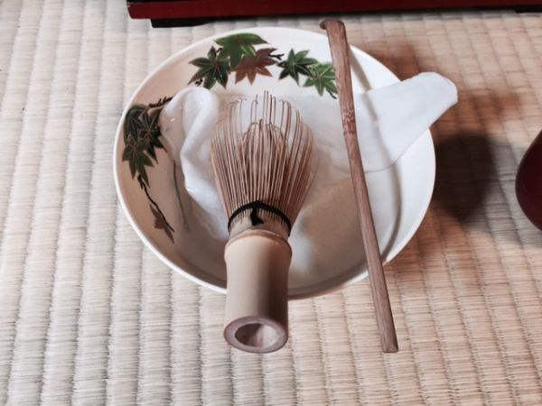 Cooler tea ceremony in summer even without cold green tea!