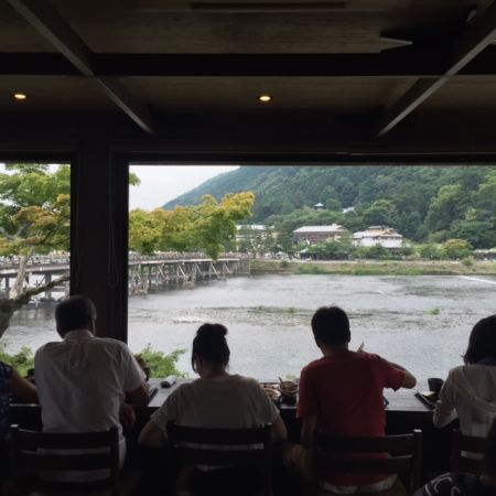 Soba noodle restaurant in Arashiyama Kyoto ~the house a Japanese artist had loved~