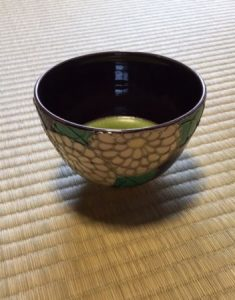 tea bowl for tea ceremony