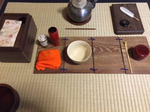 tea ceremony for full moon day