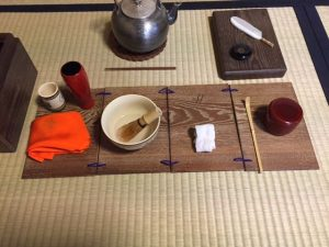 the way of tea using a tea box