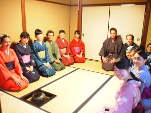 leaning Japanese for tea ceremony
