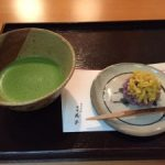 matcha and Japanese sweets