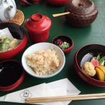 vegetarian meal in Kyoto