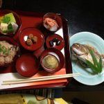 Japanese meal for 100days after birth
