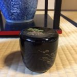 Japanese tea container