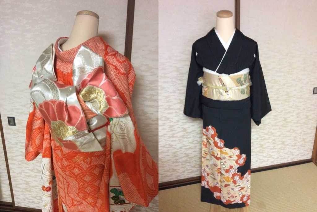 Formal Kimono in Japan