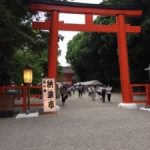 Shimogamo shrine in Kyoto