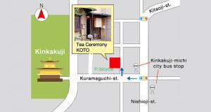 Map of Tea Ceremony Koto