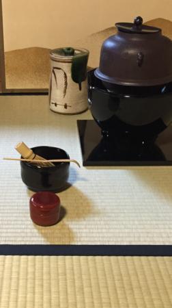 tea ceremony in October