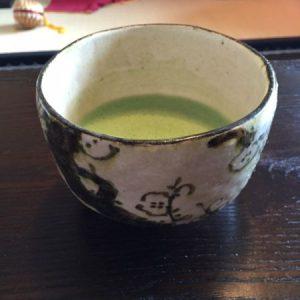tea bowl of plum flowers