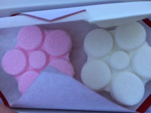 Japanese dried sweets