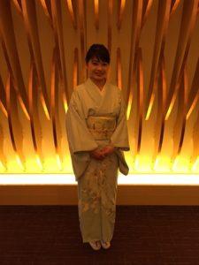 Kimono for New Year