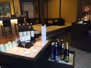 Japanese sake in Kyoto