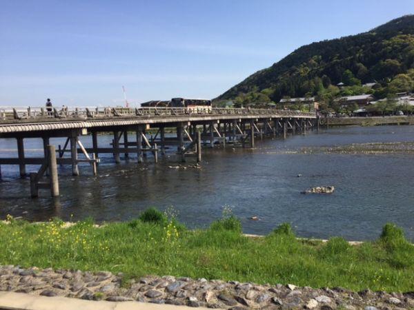 Arashiyama togetsi bridge