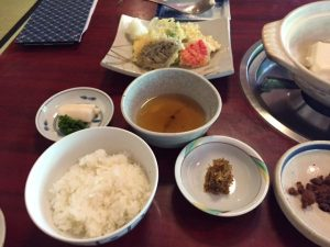 tofu lunch set