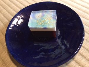 """Japanese sweets """"milky way"""""""