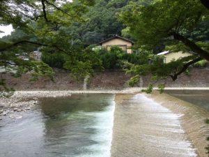 Takano river in Kyoto