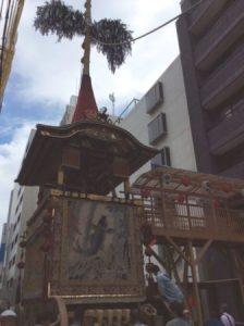Gion festival in Kyoto