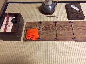 tea ceremony for full moon day