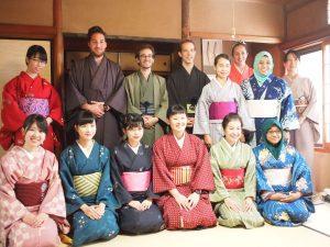 Kimono experience in Kyoto Koto culture salon