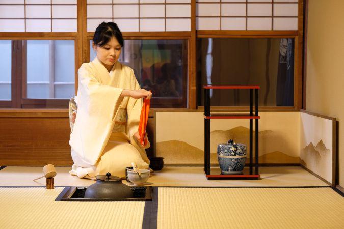 premium tea ceremony in Kyoto