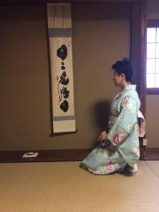 Private tea ceremony experience