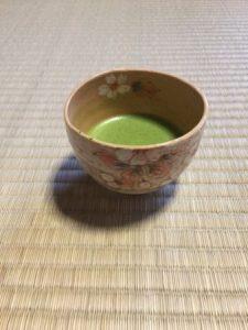 tea bowl of Sakura