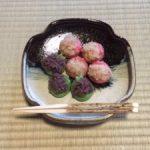 Japanese wagashi for girls festival day