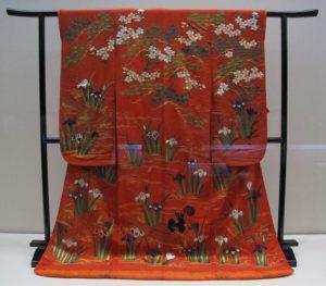 Japanese formal kimono