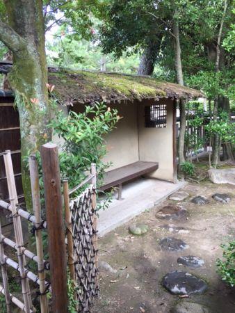 tea room in Kitanotenmangu shrine