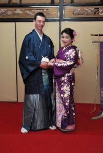 formal Japanese kimono
