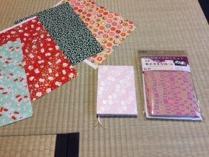 Japanese note book for temple