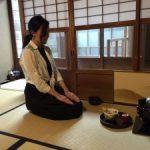 Private tea ceremony lesson