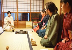 tea ceremony in English