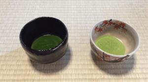 thick tea and thin tea for tea ceremony