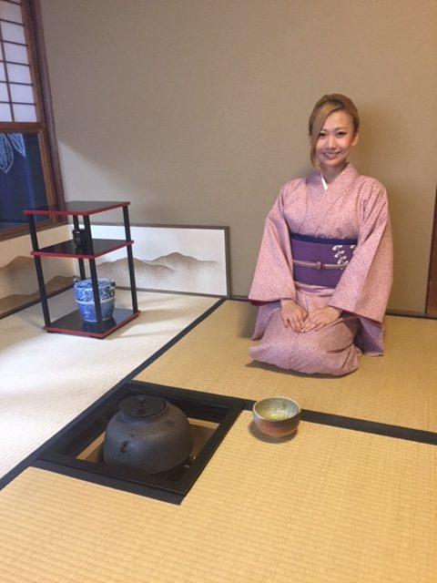 kimono & Tea Ceremony